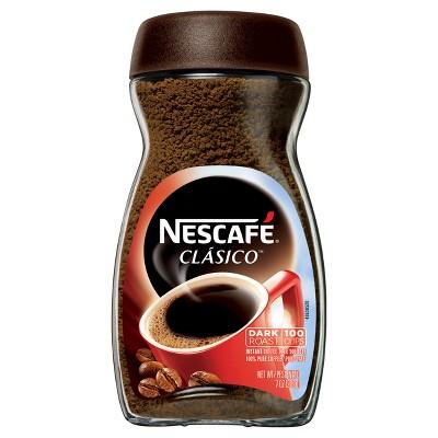 Nescafe Clasico Dark Roast Coffee, 7 Ounce