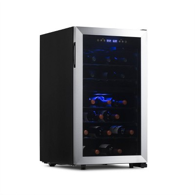 NewAir 43-Bottle Dual-Zone Freestanding Wine Cooler