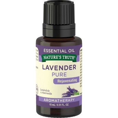 Nature's Truth Lavender Aromatherapy Essential Oil - 0.51 fl oz