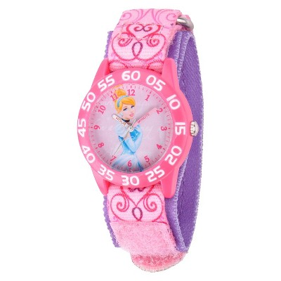 Kid's Disney Cinderella Watch - Pink