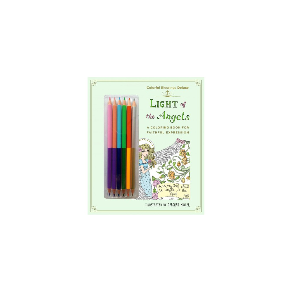 Light of the Angels : A Coloring Book of Faithful Expression (Paperback) (Deborah Muller)
