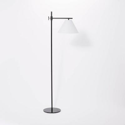 Downbridge Metal Floor Lamp (Includes LED Light Bulb) Black - Threshold™ designed with Studio McGee