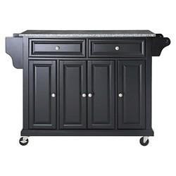 Solid Granite Top Kitchen Cart/Island - Crosley