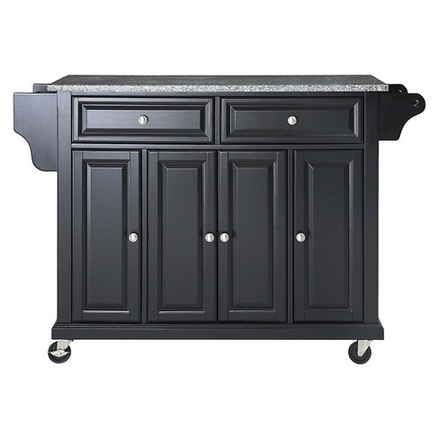 Solid Granite Top Kitchen Cart/Island - Crosley - image 1 of 7