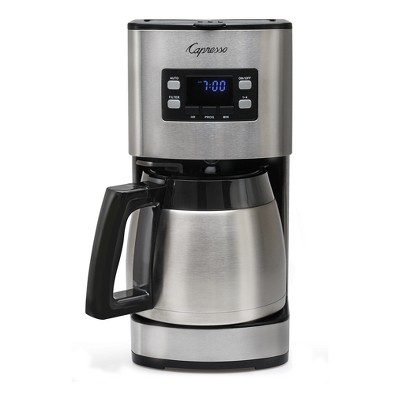 Capresso 10-Cup Coffee Maker with Thermal Carafe ST300 – Stainless Steel 435.05