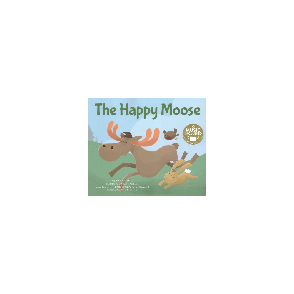 Happy Moose (Paperback) (Jenna Laffin)
