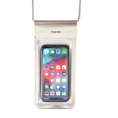 "Insten IPX8 Waterproof Bag Case Pouch Purse for iPhone 11 Pro Max XR XS X SE 2020 8 7 6s Plus, Samsung S20 S10 S9, All Smartphones Up to 6.9"" x 3.5"""