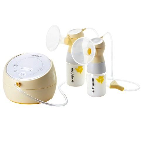 ac67320a10 Medela Sonata Smart Double Electric Breast Pump With Tote Bag   Target