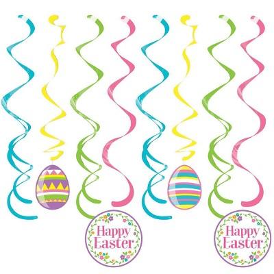 24ct Easter Eggs Dizzy Danglers