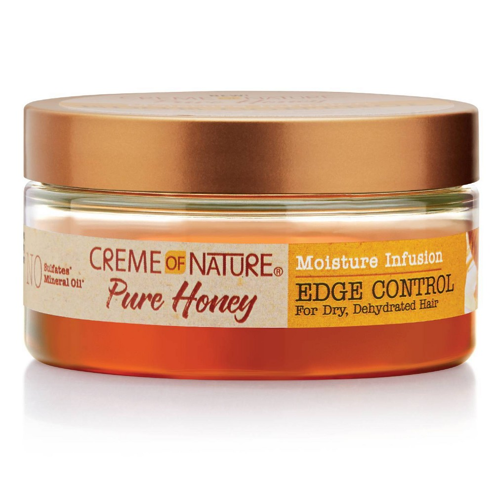 Image of Cream of Nature Pure Honey Moisture Infusion Edge Control - 2.25 fl oz