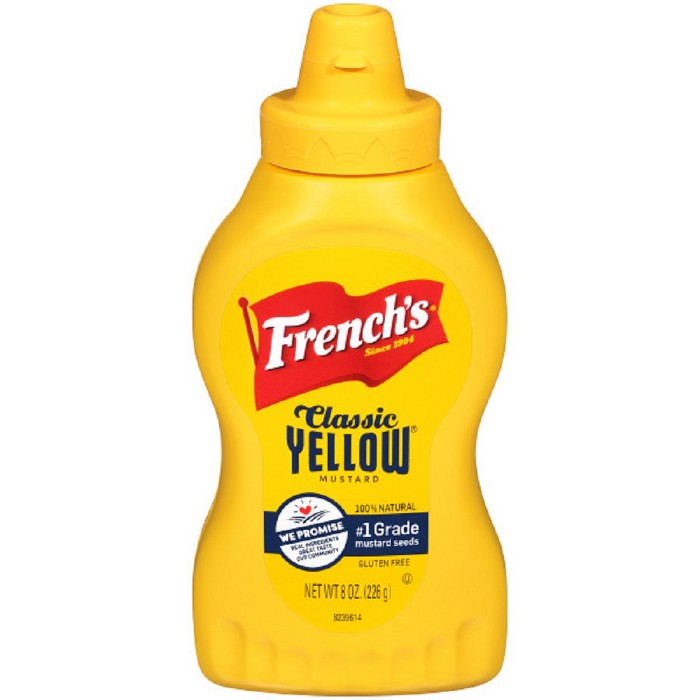 French's Classic Yellow Mustard 8oz - image 1 of 3