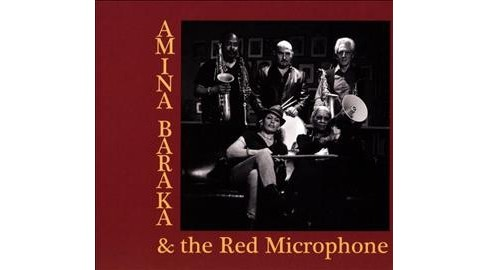 Amina Baraka - Amina Baraka & The Red Microphone (CD) - image 1 of 1