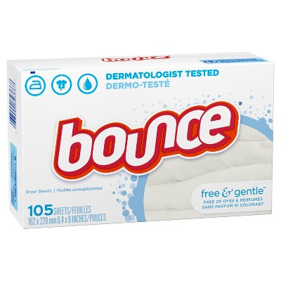 Dryer Sheets: Bounce Free & Gentle