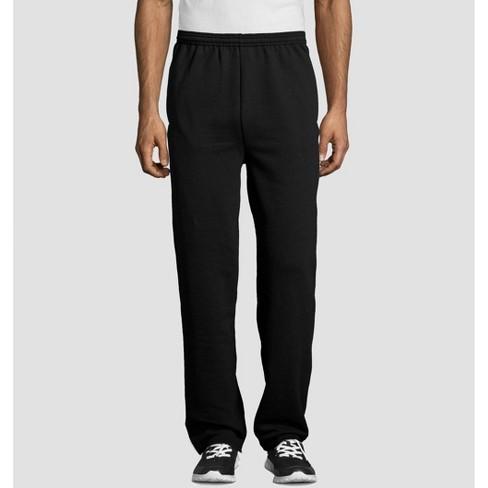 Hanes Men's EcoSmart Fleece Sweatpants - image 1 of 3