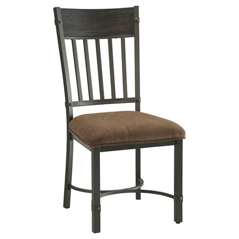 Kipp Side Dining Chair (Set of 2) - Antique Black - Acme - image 1 of 2