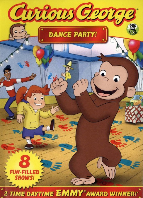 Curious George: Dance Party (dvd_video) - image 1 of 1