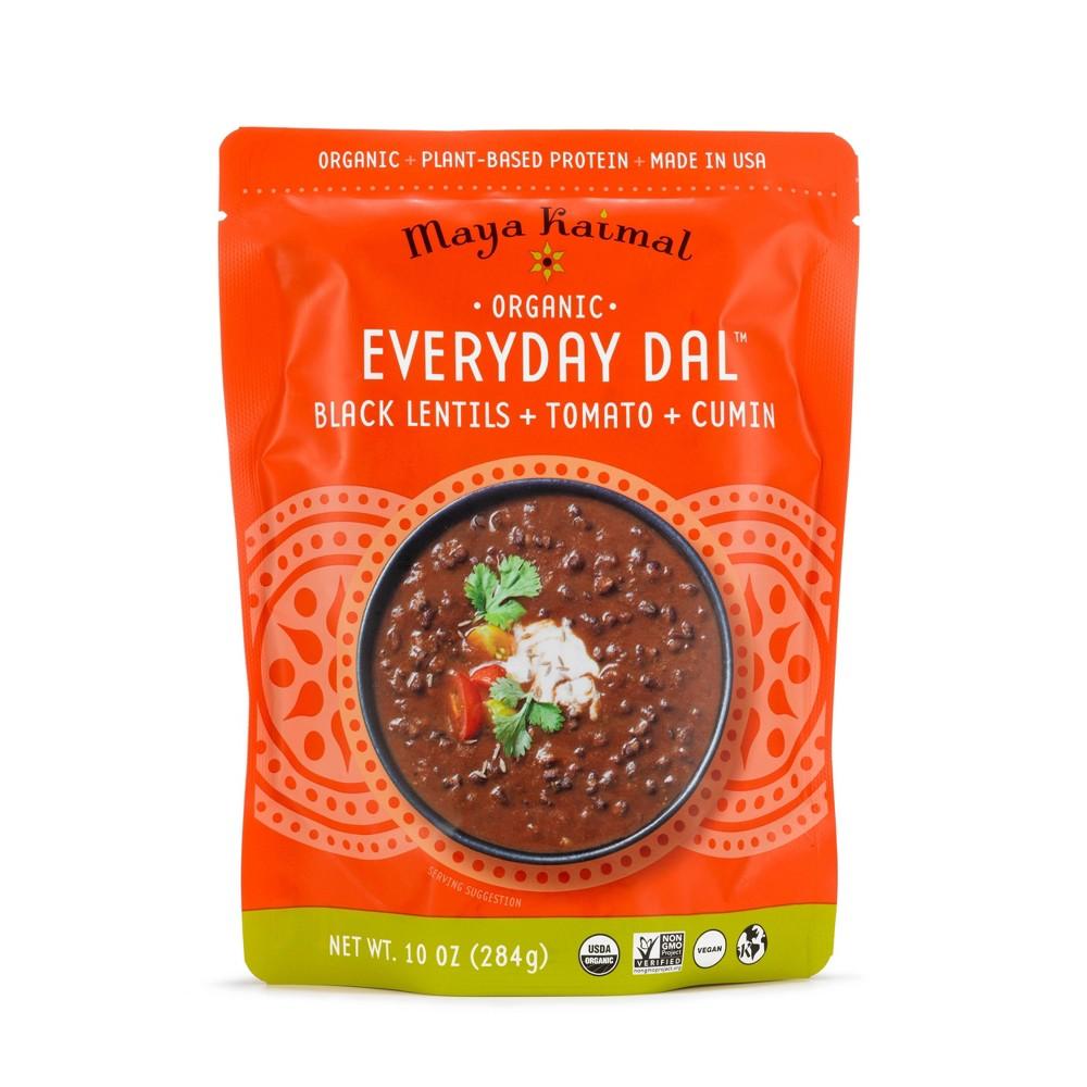 Maya Kaimal Organic Everyday Dal Black Lentils with Tomato and Cumin - 10oz Coupons