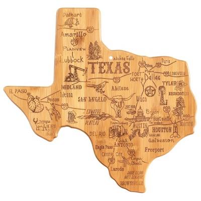Totally Bamboo Destination Texas Cutting Board
