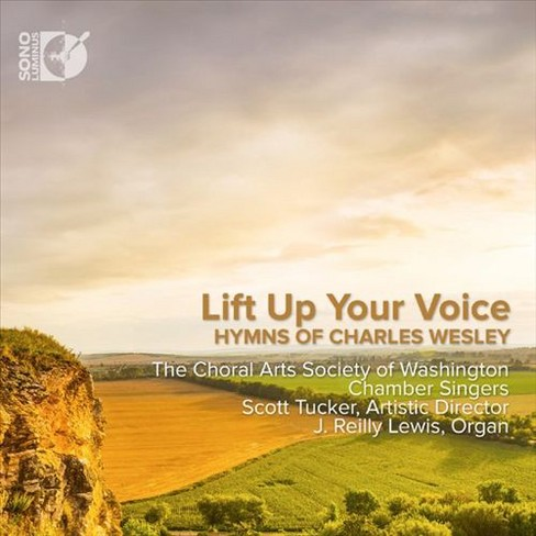 Choral arts society - Lift up your voice:Hymns of charles w (CD) - image 1 of 1