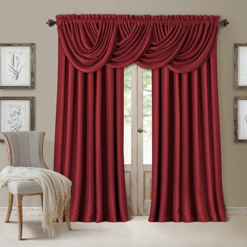 All Seasons Blackout Window Curtain Panel - Elrene Home Fashions - image 1 of 4
