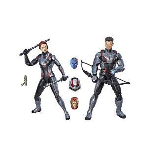 "Marvel Avengers Legends Series 6"" Black Widow & Marvels Hawkeye Figure 2-Pack"