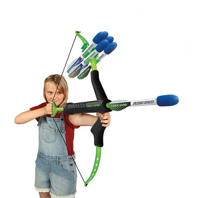 "HearthSong - Bow and Arrow Set for Kids ,  32""L Bow and 6 10""L Foam-Tipped Arrows"