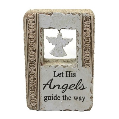 "Religious 6.0"" Faith Art Block Love Guide Inspirational  -  Decorative Figurines"
