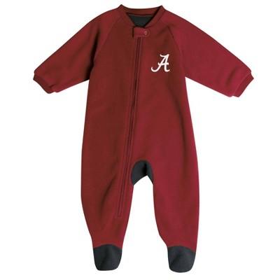 NCAA Alabama Crimson Tide Baby Boys' Blanket Sleeper - 3-6M