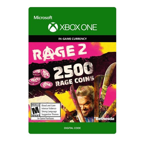 Rage 2: 2500 Rage Coins - Xbox One (Digital) - image 1 of 1