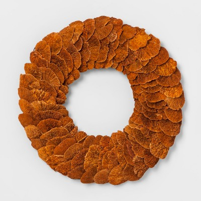 Dried Door Wreath - Orange - Smith & Hawken™