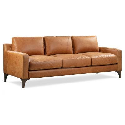Memphis Leather Sofa - Poly & Bark