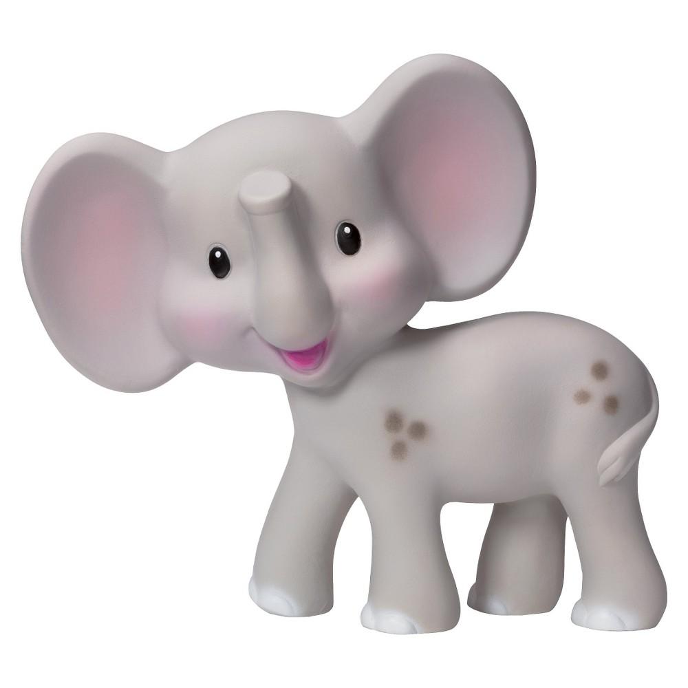 Infantino Go Gaga! Squeeze & Teethe Elephant - Gray