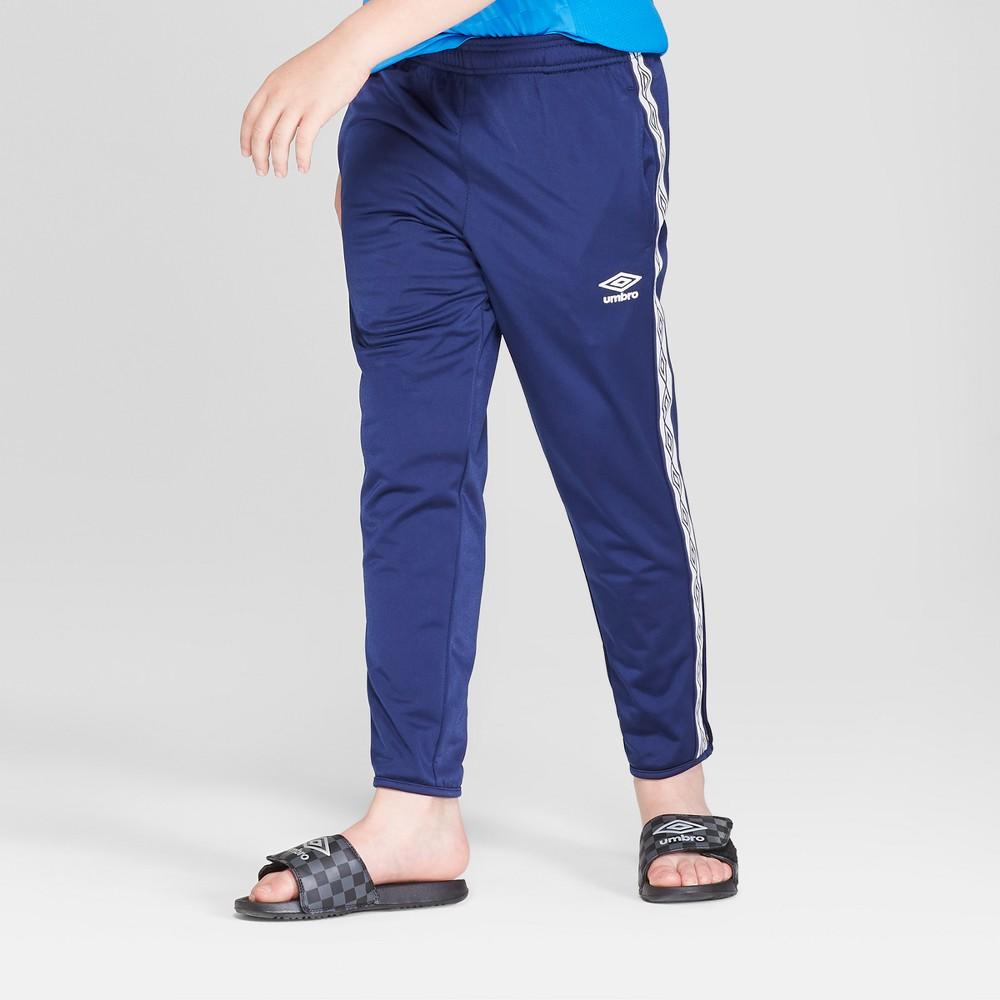 Umbro Boys' Double Diamond Track Pants - Navy Blue L