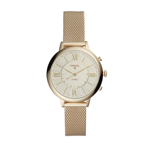 Fossil Hybrid 38mm Smartwatch - Jacqueline Gold-Tone Stainless Steel - image 1 of 3