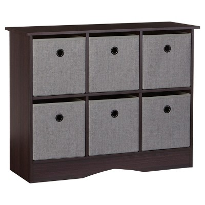 Charmant RiverRidge® 6 Cubby Storage Cabinet With Bins