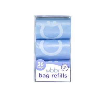 Ubbi On-the-Go Bags Dispenser Refills - 36ct