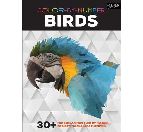 Color-by-Number Birds : 30+ Fun & Relaxing Color-by-Number Projects to Engage & Entertain (Paperback). - image 1 of 1