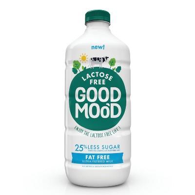 Good Mood Lactose Free Skim Milk - 0.5gal