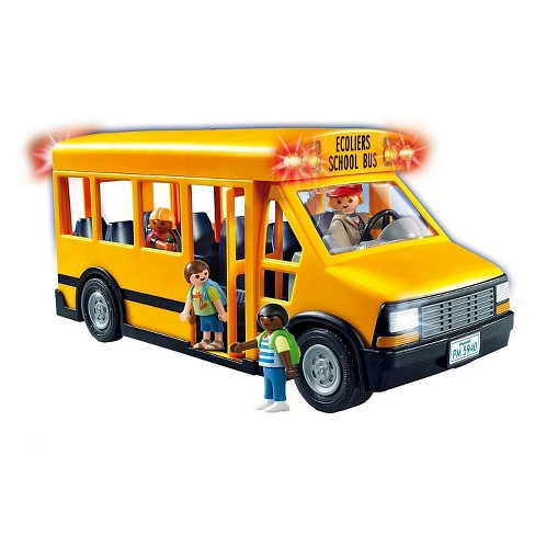 Playmobil School Bus Playset - image 1 of 2