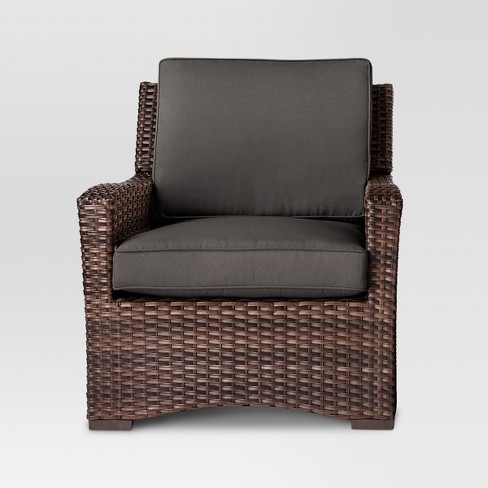 Halsted All Weather Wicker Patio Club Chair - Threshold™ - image 1 of 2