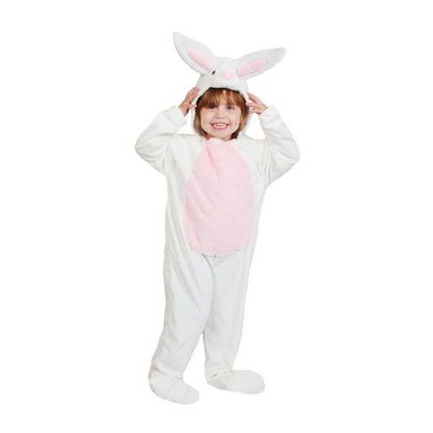 Toddler Plush Bunny Costume White - Spritz™ - image 1 of 1