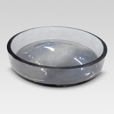 Round Soap Dish Gray - Threshold™