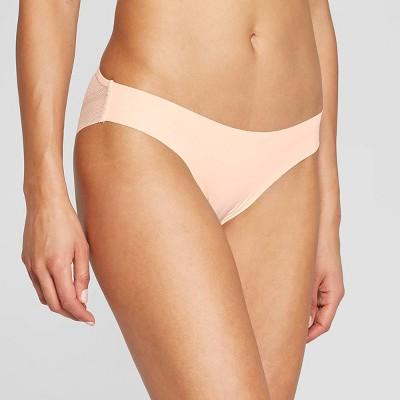 617f241a9a39 Women's Laser Cut Cheeky Bikini With Mesh Back - Auden™ Rocket City Gray XL  : Target