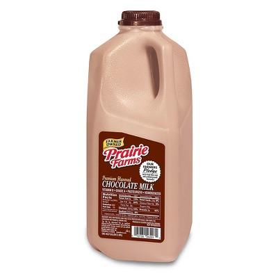 Prairie Farms Vitamin D Chocolate Milk - 0.5gal