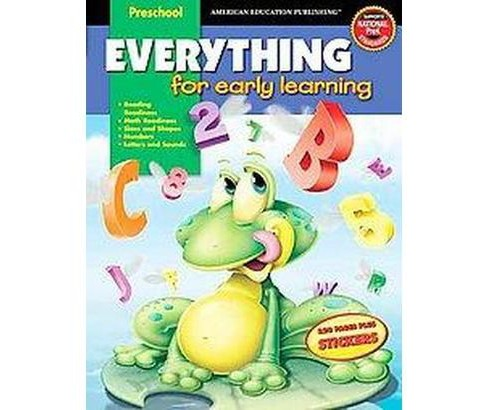 Everything For Early Learning, Preschool (Workbook) (Paperback) (Vincent Douglas) - image 1 of 1