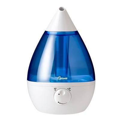 Crane Drop Ultrasonic Cool Mist Humidifier - Blue/White