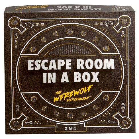 Mystery Shopper Experiment Finds >> Escape Room In A Box The Werewolf Experiment Game Target