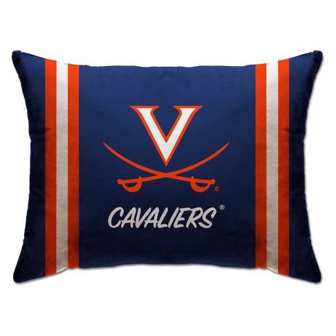 "NCAA Virginia Cavaliers 20""x26"" Standard Logo Bed Pillow - image 1 of 1"