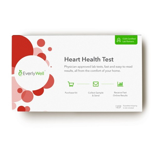 EverlyWell Heart Health Test - Lab Fee Included - image 1 of 4