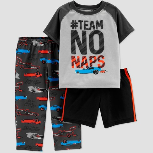 0b02ee11bbf0 Toddler Boys  3pc No Naps South Pajama Set - Just One You® made by ...